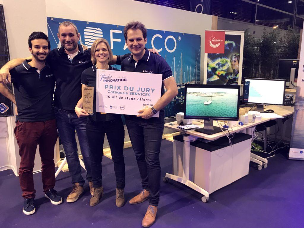 Falco raises 1 million euros!